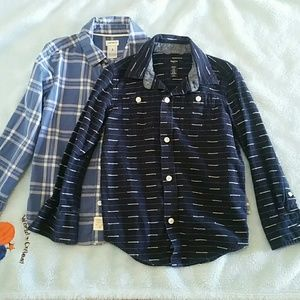 Boys long sleeves shirts